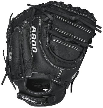 Wilson A600 Baseball Catcher Mitt, Right Hand Throw,